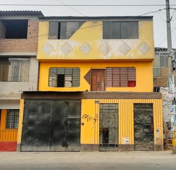 Remato Casa En Avenida - Área 140m2 - Villa El Salvador