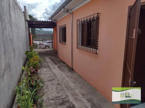 Casa Com 2 Dormitórios À Venda, 95 M² Por R$ 450.000,00 - Companhia Fazenda Belém - Franco Da Rocha/sp - Ca0658
