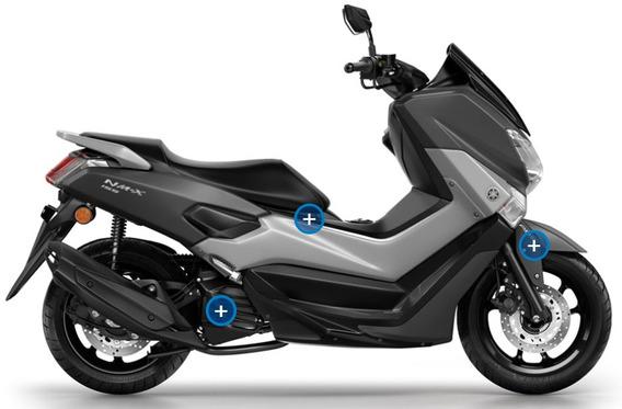 Yamaha Nmax Scooter No Pcx, Styler, Kymco + Palermo Bikes
