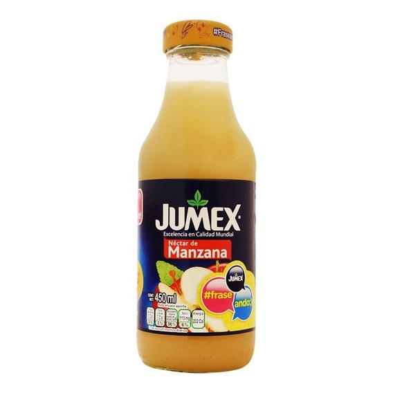 Nectar Jumex Manzana Botella 450 Mls.