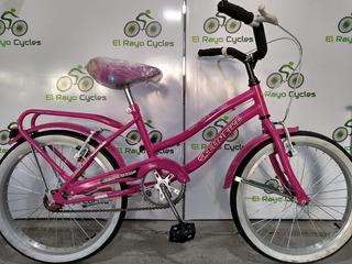 Bicicleta De Paseo Rod 20 Kelinbike Para Niña 6-8 Años