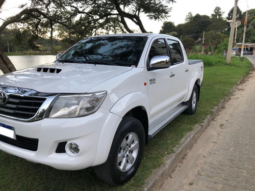 Toyota Hilux Cd 4x4 3.0 Diesel - Branco- 2015/2015