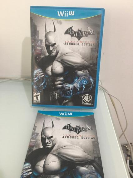 Batman Armored Edition Wii U