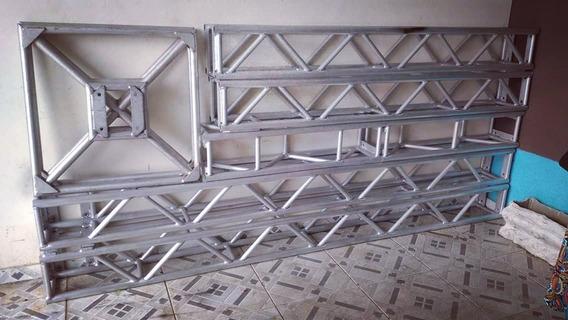 Treliça Q25 Aluminio Linha Pesada, 2,80x6m. Leia A Descrição