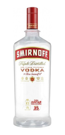 Vodka Smirnoff Red 1,75 Litros