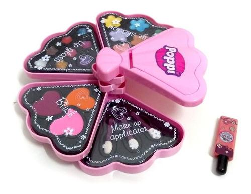Set Maquillaje Nenas Infantil Color Pinturitas Niñas +5 Años