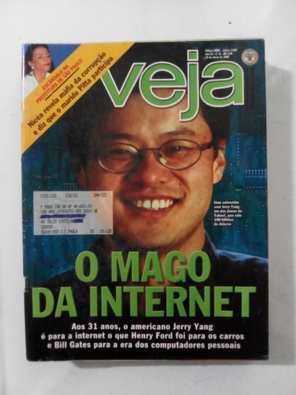 Revista Veja 1640 Amazonia Joana Viviane Araujo Werner 2000