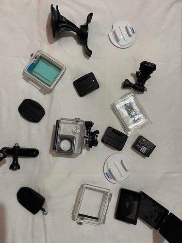Câmera, Go Pro Hero Black, Filmadora, Acessórios.