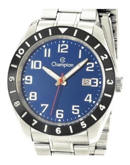 Relógio Masculino Champion Ca31435a / Prata - Super Barato