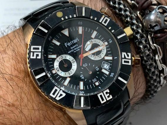Ferrari Chronograph Wr100m Quartz Fo019p