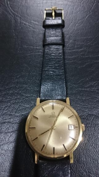 Relógio Omega Automático Em Ouro Maciço