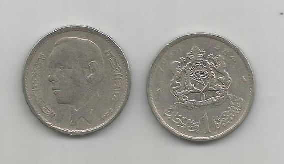 Moneda Marruecos 1 Dir. 1965 Muy Buena