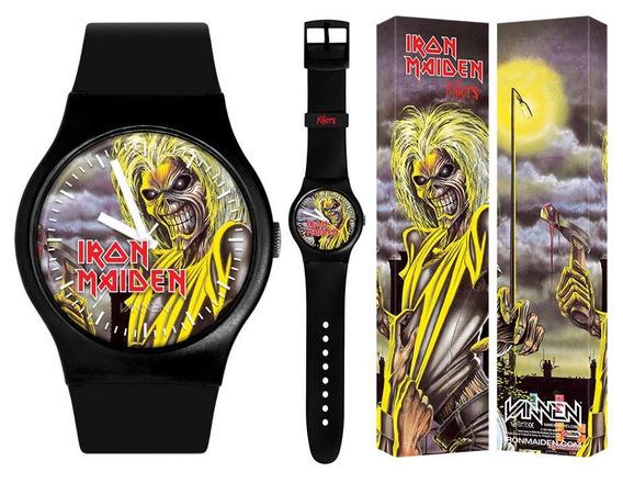 Relogio Iron Maiden Killers Vannen- Original - Lacrado- Raro