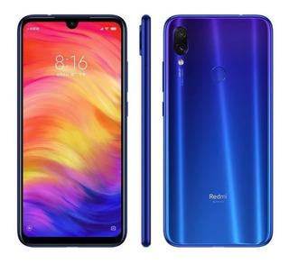 Xiaomi Redmi Note 7 Azul 4gb Ram 64gb Hd Global Envio Já