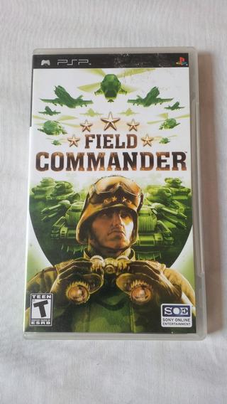 Field Commander Psp Original Completo