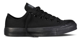 Tênis Converse All Star Ox Preto Monochrome Ct04460002