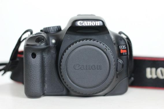 Canon T2i (corpo) 36k Cliques Camera Dslr