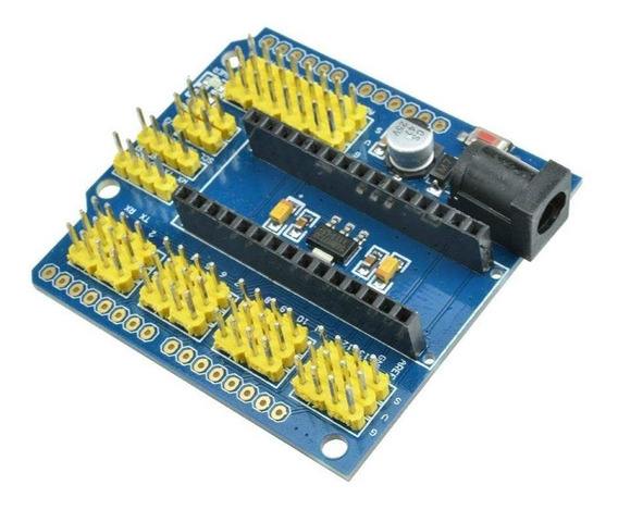 Shield Adaptador Base Para Expansão Arduino Nano V3.0