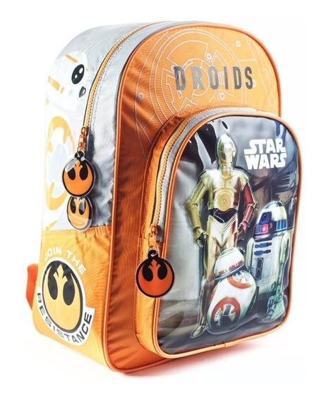 Mochilas Star Wars 16 Pulgadas Escolar Original