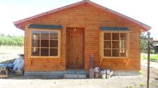 Casas Prefabricadas 54 M2 Media Luna Estruc 2x3 Vigas Oregon