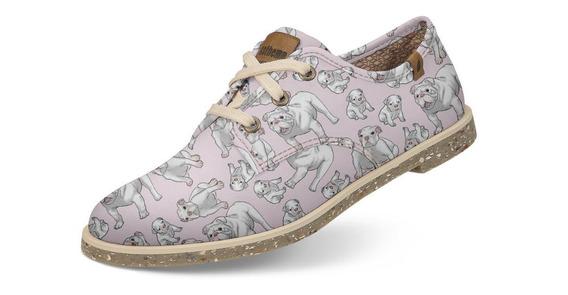 Sapato Usthemp Legend Vegano Casual Bulldog Inglês