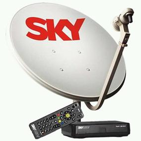 Aparelho E Antena Sky Pré Pago