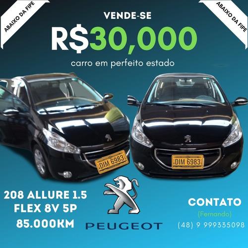 Peugeot 208 2014 1.5 Allure Flex 5p