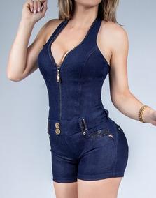 Macaquinho Feminino Pit Bull Jeans 30496