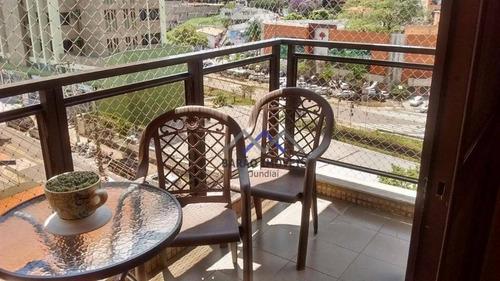 Imagem 1 de 27 de Apartamento À Venda, 190 M² Por R$ 850.000,00 - Chácara Urbana - Jundiaí/sp - Ap1853