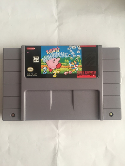 Kirbys Avalanche Snes Original