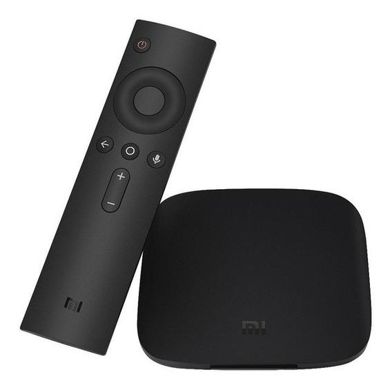 Xiaomi Mi Box 3 4k Hdr Android Tv 6.0 - Preto