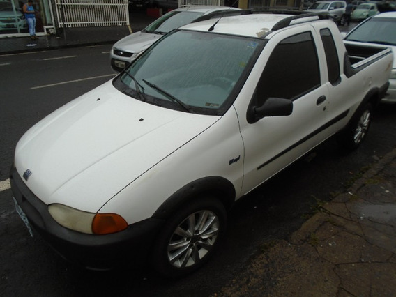 Fiat Strada Working 1.5 Branco 2000