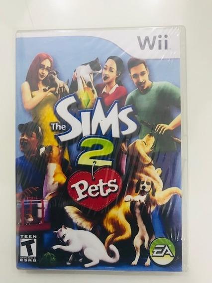 The Sims 2 Pets Original Para Nintendo Wii