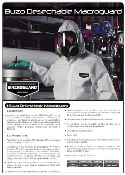 Traje De Protección Macroguard Glute