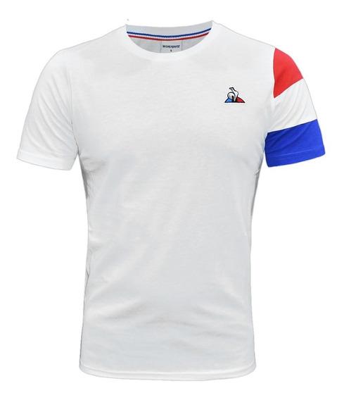 Remera Le Coq Sportif Tri Sp Bbr Tee Ss Moda Blanca Original