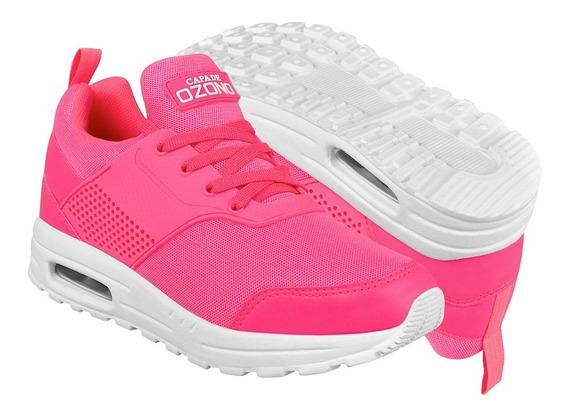 Tenis Casuales Para Dama Capa De Ozono 334522-5 Rosa