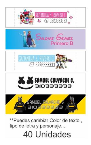 Marquillas Etiquetas Personalizadas Ropa Uniformes Fullcolor