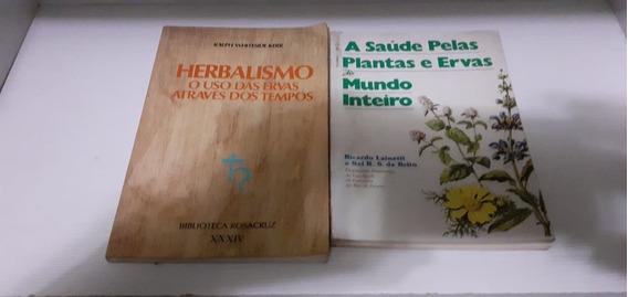 5 Livros Plantas Medicinais Saúde Cura Herbalismo Florais