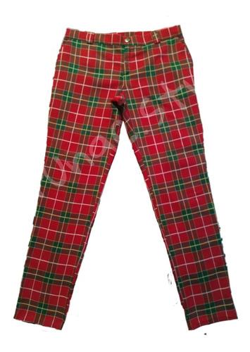 Pantalon De Cuadros Escoces Punk Estilo Coreano Hombre Mercado Libre