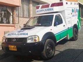 Ambulancia Nissan Frontier 2.5 T.d. Japónesa