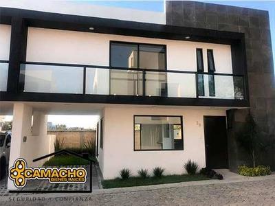 Venta De Casa En Fuertes De Guadalupe Cuautlancingo Opc-0242