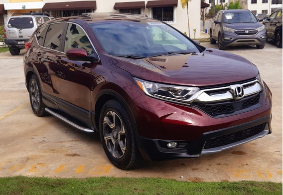 Honda Cr-v 2018 Ex-l Turbo 5 Mil Millas