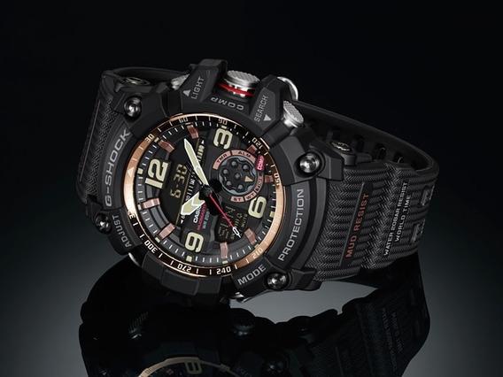 Relógio Casio G-shock Mudmaster Gg-1000rg-1a Masculino