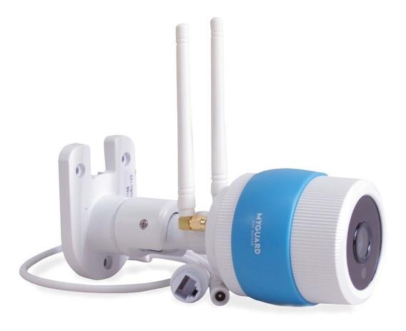 Myguard Camara Exterior Wifi Infrarrojo Con Sd De 16 Gb