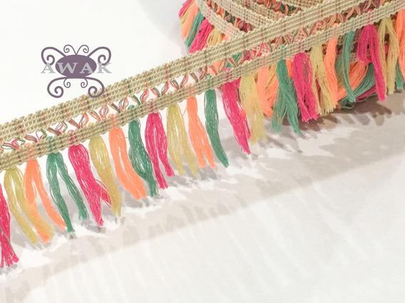Flecos Multicolor De 8 Cm