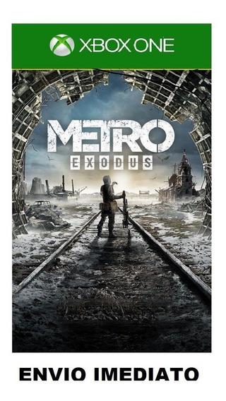 Jogo Metro Exodus Xbox One Offline - Mídia Digital