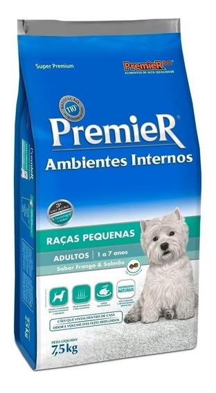 Ração Premier Pet Ambientes Internos Cães Adultos 7,5kg