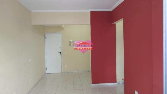Apartamento Com 1 Dorm, Centro, São Vicente - R$ 217 Mil, Cod: 1163 - V1163