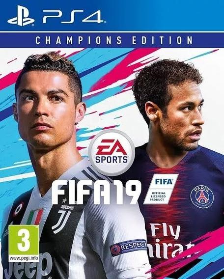Fifa 19 Champions Edition Digital Ps4 Primaria