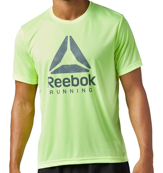 Playera Atletica Running Graphic Hombre Reebok Br4414